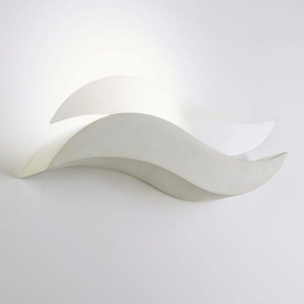 Applique mare a forma di onda luminosa