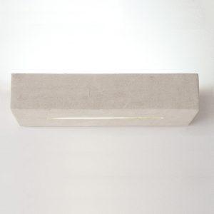 applique design da parete moderna in pietra leccese