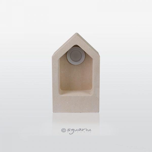 lampada in pietra pizzo dell'aspide