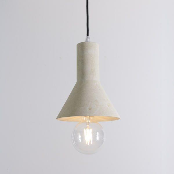 lampadario pietra