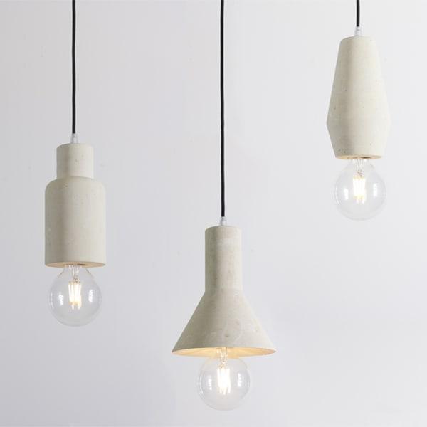 Lampade Sospensione Design.Lampada A Sospensione In Pietra Leccese Modello Prisca