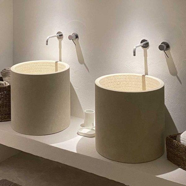 lavabo pietra leccese