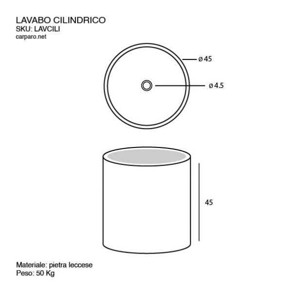 disegno-tecnico-lavabo