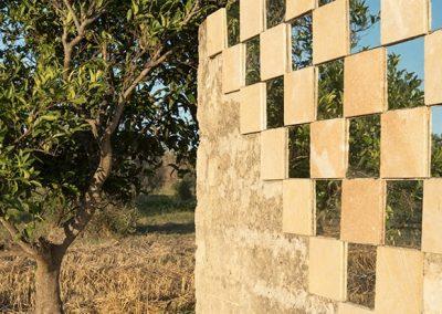 pietra solare installazione albero nero