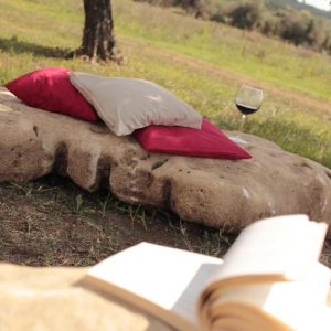 set giardino di pietre da seduta